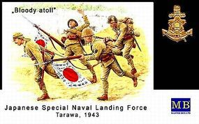 Master-Box Japanese Naval Landing Force Tarawa 1943 (4) Plastic Model Military Figure 1/35 #3542