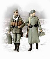 Master-Box Supplies At Last German Soldiers 1944-45 (2) Plastic Model Military Figure 1/35 Scale #3553