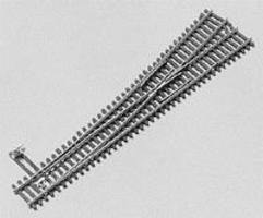 Micro-Engr Flex Trak(TM) Code 55 Turnout #6 Left Hand Model Train Track N Scale #15505