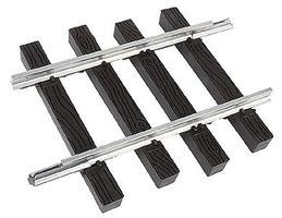 Micro-Engr (bulk of 12) Bulk of 12 G-Trak Straight Track Code 250 Aluminum Rail Model Train Track G Scale #22054