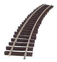 Micro-Engr (bulk of 12) Bulk of 12 G Trak Curved Code 250 N/S Rail 25.1 Long Model Train Track G Scale #23107
