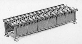 Micro-Engr Deck Girder Bridge w/Open Deck Kit Model Train Bridge HO Scale #75502