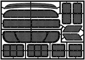 Model-Car-Garage 1995 Monte Carlo Stock Car Duct Grille Works Plastic Model Accessory 1/24-1/25 Scale #2027