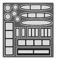 Model-Car-Garage 2000-2001 Ford Stock Car Grille & Duct Works Plastic Model Accessory 1/24-1/25 Scale #2198