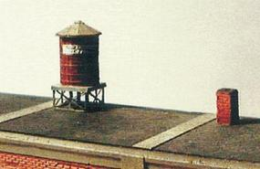 Micro-ArtMicron Rooftop watertank kit  2/ - Z-Scale (2)