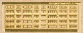 Micro-ArtMicron Modern wide windows sqre - Z-Scale