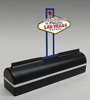 Micro-Structures Desk Top Neon Las Vegas Sign Model Accessory #1250
