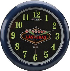 Micro Structures Las Vegas Neon Desk Top Clock -- Office Supply -- #1350