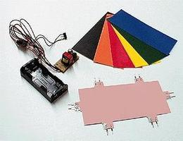 Micro-Structures Electroluminescent Experimenters Kit Model Railroad Electrical Accessory #2501
