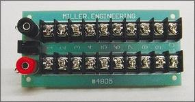 Micro-Structures Power Distribution Board Model Railroad Electrical Accessory #4805