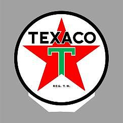 Micro Structures TEXACO ROTATING SIGN -- O Scale Model Railroad Sign -- #55010