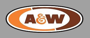 Micro Structures A&W ROTATING SIGN -- O Scale Model Railroad Sign -- #55045