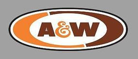 Micro-Structures A&W ROTATING SIGN O Scale Model Railroad Sign #55045