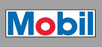 Micro Structures MOBIL ROTATING SIGN -- O Scale Model Railroad Sign -- #55055