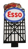 Micro-Structures Esso Animated Neon Small Billboard HO Scale Model Railroad Sign #6072