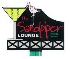 Micro-Structures The Sandpiper Lounge Animated Neon Billboard Model Railroad Billboard Kit #8681