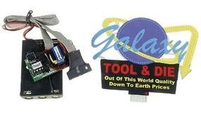Micro-Structures Galaxy Tool & Die w/Animated Rings Animated Neon Billboard Kit Model Railroad Accessory #9081