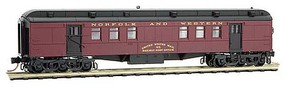 Micro-Trains Pullman Heavyweight 60 Railroad Post Office - Ready to Run Norfolk & Western 95 (maroon, black) - N-Scale