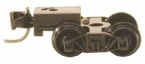 Micro-Trains Arch Bar Trucks - With Short Extended Couplers (Black) N Scale Model Train Truck #410001