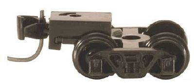 Micro Trains Line Andrews Trucks - With Short Extended Couplers (Black) -- N Scale Model Train Truck -- #410011