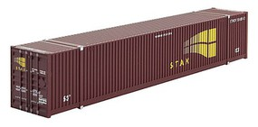 Micro-Trains 53 Corrugated-Side Container - Kit Undecorated (brown) - N-Scale