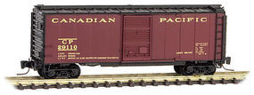 Micro-Trains 40 Standard Boxcar Canadian Pacific #29110 Z Scale Model Train Freight Car #50000882