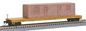 Micro-Trains 60 Steel Flatcar U.S. Army USAX Z Scale Model Train Freight Car #52400061