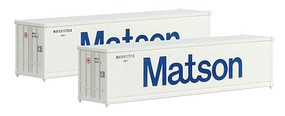 Micro-Trains Container 2-Pack Matson - Z-Scale