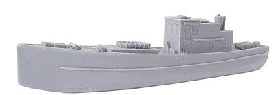 Micro Trains Line Sardine Boat - Kit (Resin) - Undecorated -- Z Scale Model Railroad Vehicle -- #79943931