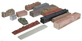 Micro-Trains Mixed Load Variety Pack - 12 Loads, Unpainted Z Scale Model Train Freight Car Load #79943992