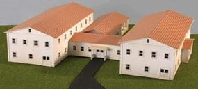 Micro-Trains Military Hospital Kit Z Scale Model Railroad Building #79990924