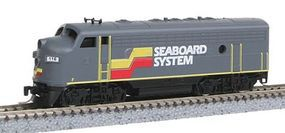 Micro-Trains EMD F7A Seaboard System #116 Z Scale Model Train Diesel Locomotive #98001320