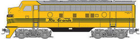 Micro-Trains F7A Powered DRGW #5641 Z Scale Model Train Diesel Locomotive #98001391