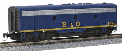 Micro Trains Line EMD F7B - Standard DC - Baltimore & Ohio #5429 -- Z Scale Model Train Diesel Locomotive -- #98002300