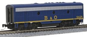 Micro-Trains EMD F7B - Standard DC - Baltimore & Ohio #5429 Z Scale Model Train Diesel Locomotive #98002300