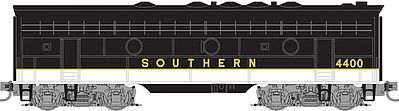 Micro Trains Line F7B Unit Southern #4400 -- Z Scale Model Train Diesel Locomotive -- #98002371