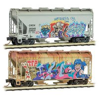 Micro-Trains Fatherss Day Graff 2-Pk - N-Scale