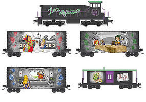 Micro-Trains Alice in Wonderland Train-Only Set N Scale Model Train Set #99321250