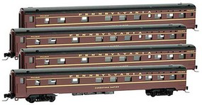 Micro-Trains 83 SS Sleeper PRR 4/ - Z-Scale