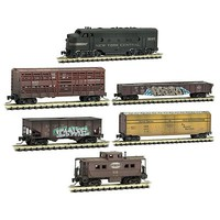 Micro-Trains Weathered Train Set NYC - Z-Scale