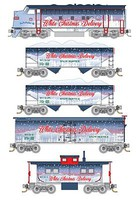 Micro-Trains White Christmas Train Set - Z-Scale