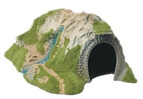 Model-Power Curved Tunnel HO Scale Model Railroad Tunnel #1324