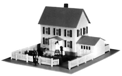 Model Power Moving In Kit -- N Scale Model Railroad Building -- #1553