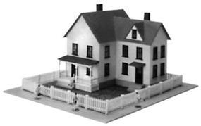Model-Power The Sullivans Kit N Scale Model Railroad Building #1557