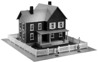 Model Power Mr. & Mrs. Diggers Kit -- N Scale Model Railroad Building -- #1558