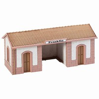 Model-Power Passenger Wayside Station Kit HO