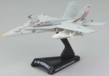Model Power 1F/A 18C Hornet VFA 131 Wildcats -- Diecast Model Airplane -- 1/150 Scale -- #5338-3