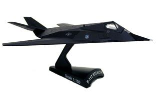 Model Power F-117 Stealth HO -- Diecast Model Airplane -- 1/150 Scale -- #5386