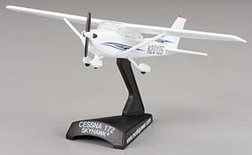 Model-Power Cessna 172 Skyhawk N2008S Diecast Model Airplane 1/87 Scale #5603-2