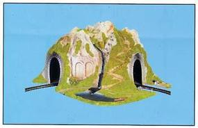 Model-Power CURVED TUNNEL O Scale Model Railroad Tunnel #6091